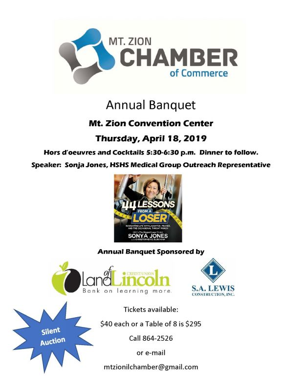 Mt. Zion Chamber Annual Banquet